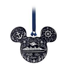 your wdw store disney ornament disney cruise line mickey icon disc