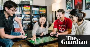 play table board game console playtable tablet uses blockchain technology to enhance board games