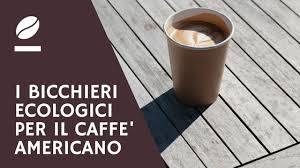i bicchieri ecologici per il caffè americano d asporto il