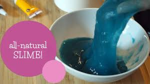 diy all natural slime no borax detergent or eye drops
