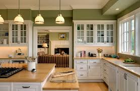 kitchen color combinations ideas soft green color scheme in traditional kitchen designs some