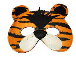 children u0027s tiger felt animal mask magical attic