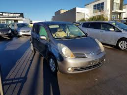 nissan note 2005 white inventory lrc motors