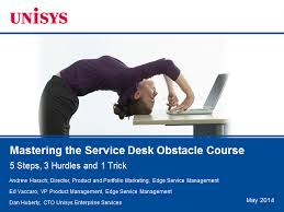 Service Desk Courses The Service Desk Obstacle Course 5 Steps 3 Hurdles 1 Trick