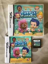 nintendo ds bubble guppies game suffolk cds dvds games u0026 books