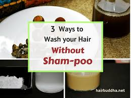 3 ways to clean your hair without sham poo hair buddha