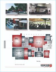 artist renderings and the floor plan for the new houchin community