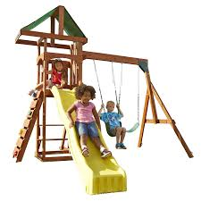 Home Depot Playset Installation Amazon Com Swing N Slide Scrambler Playset Toys U0026 Games