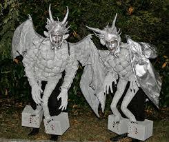 gargoyle costume gargoyles perched on pedestal costumes 6 steps