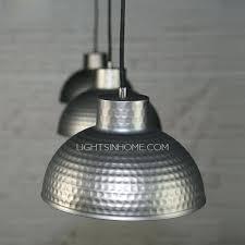 silver pendant light shade light black and silver ceiling light