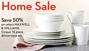 hudson s bay home sale 50 dinnerware set