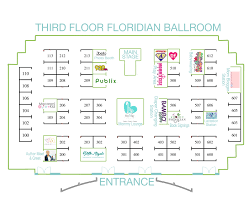 floor plan u2013 2017 publix eco baby expo presented by itsy bitsy