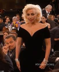 Leonardo Dicaprio Walking Meme - twitter erupts with leonardo dicaprio and lady gaga golden globes