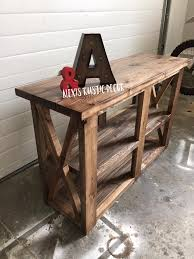 Rustic Shabby Chic Decor by Best 25 Rustic End Tables Ideas On Pinterest Wood End Tables