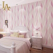 Wallpaper Home Decor Modern Aliexpress Com Buy Fashion European Blue Pink Beige Striped