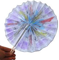 how to make a fan out of paper japanese paper fans krokotak daycare pinterest 3d craft