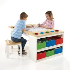 Toddler Table And Chair Sets Intermediate Kids 10 Piece Arts U0026 Crafts Table And Chair Set