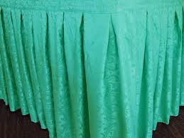 Table Skirts 21 Ft Damask Table Skirt Jacquard Polyester Table Skirts