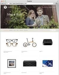 best wedding registry website wedding registry idea thankful registry lets you upload a