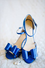 wedding shoes blue blue wedding shoes that dazzle modwedding