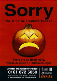 halloween signs from the police keith graham and iain