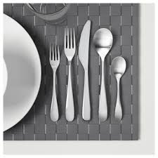 behagfull 20 piece flatware set ikea