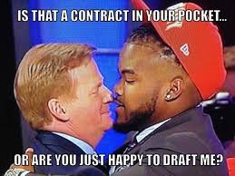Draft Day Meme - nfl owner refers to players as inmates let s start the chimpout