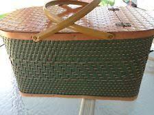 vintage picnic basket picnic basket ebay