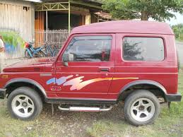 mobil jeep modifikasi dijual suzuki katana gx tahun 1994 bengkel restorasi dan