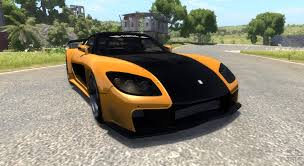 mazda rx7 fast and furious mazda rx 7 for beamng drive
