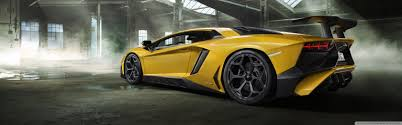 yellow lamborghini download yellow lamborghini aventador sports car wallpapers