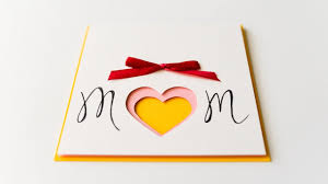 Diy Mother S Day Card by How To Make Mother U0027s Day Card 3d Heart Step By Step Diy