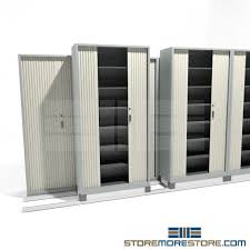 Rolling Storage Cabinet Locking Storage Cabinets Rolling On Tracks For Storing Binders
