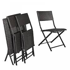 resin folding table and chairs h l patio resin rattan steel folding bistro set parma style all