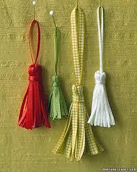 Large Tassels Home Decor by Ribbon Tassels Martha Stewart