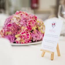idee menu mariage 10 façons de présenter menu de mariage repérées sur instagram