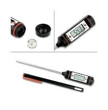 termometri a sonda per alimenti termometro digitale sonda da cucina ottimo per alimenti liquidi