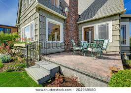 Small House Backyard Small House Exterior Stock Images Royalty Free Images U0026 Vectors
