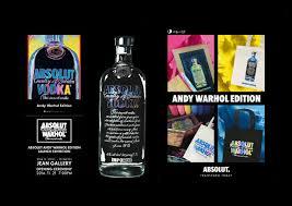 absolut vodka design absolut vodka fashion print design for andy warhol edition héo
