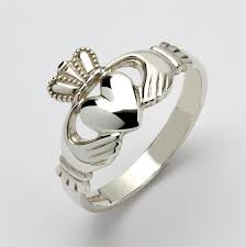 claddagh rings meaning mens silver claddagh ring msf r209