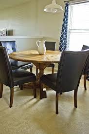 diy round farmhouse table round farmhouse table diy lane home co