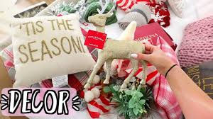 Target Christmas Decor Christmas Decor Haul Biggest Target Haul Ever Alishamarievlogs