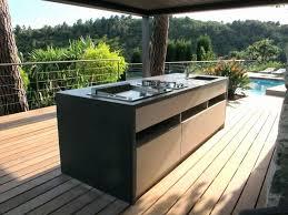 construction cuisine d été extérieure cuisine d été en bois beau photos ment construire une cuisine
