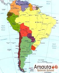 america map in maps of peru peru overview