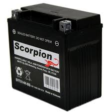 ytx14 bs battery scorpion 12 volt motorcycle batteries