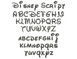 1000 ideas about disney font free on pinterest disney fonts