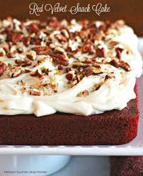 frosted red velvet brownies melissassouthernstylekitchen com