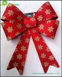 decorative bows outdoor christmas ornament new christmas decorations ribbon bow