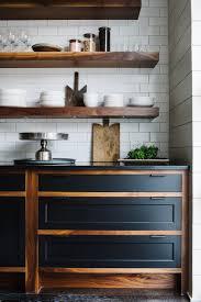 wooden open shelving subtile kitchen design smith hanes studio