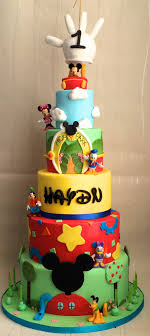 mickey mouse clubhouse birthday cake mickey mouse 1st birthday cake quotes ideas